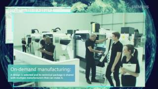 A Vision of Siemens Part Manufacturing Platform in Action
