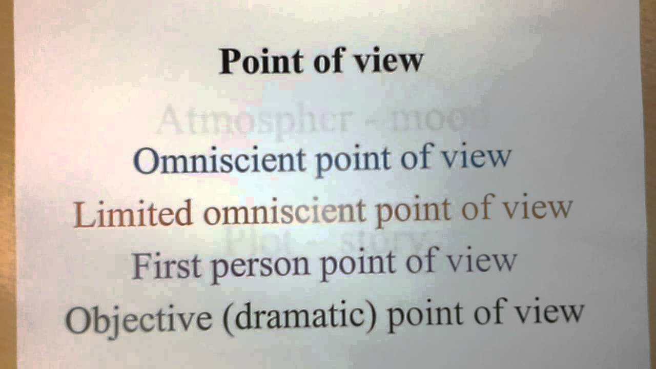 the dramatic point of view Point of view how does dramatica define point-of-view (pov) i'm trying to integrate my understanding of traditional point of view concepts (eg first person, third person etc) and dramatica's four throughlines.