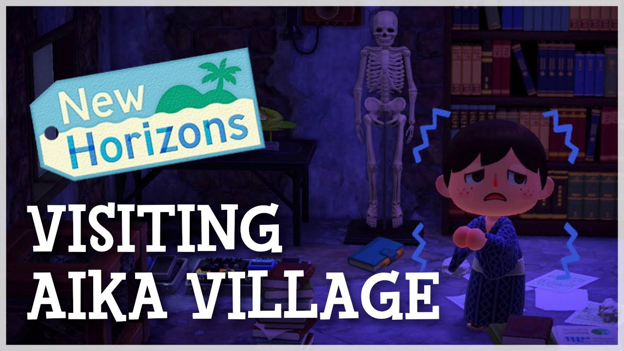 Animal Crossing New Horizons - Creepiest Dream Island Tour (Aika Village)