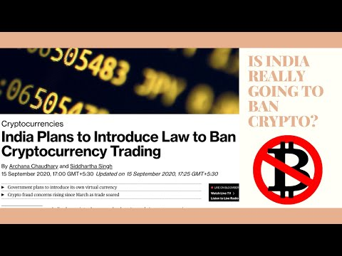 India Plans to Introduce Law to Ban Cryptocurrency Trading, says Bloomberg…Again!