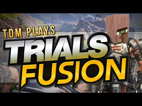FPS IN TRIALS?! | Trials Fusion: Minigames | TDM Plays [Xbox