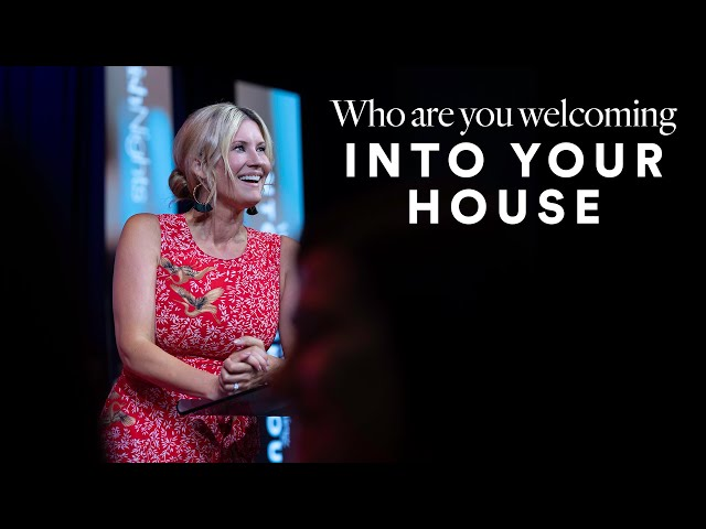 Who Are You Welcoming Into Your House? - Ps. Leanne Matthesius