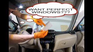 How to clean your interior windshield to PERFECTION
