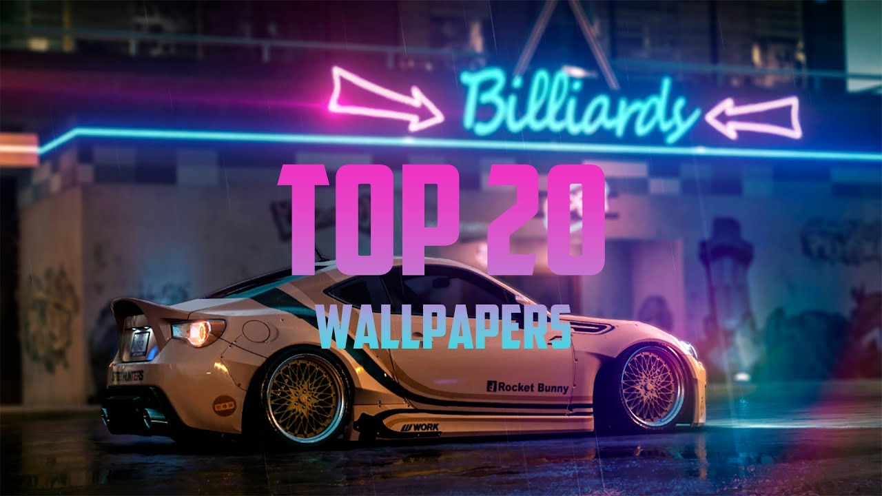 Top 20 Vehicle Wallpapers For Wallpaper Engine Links Youtube
