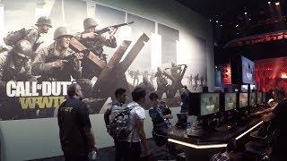 E3 2017 / ACTIVISION — Презентация COD:WW2 и Destiny 2 на выставке E3