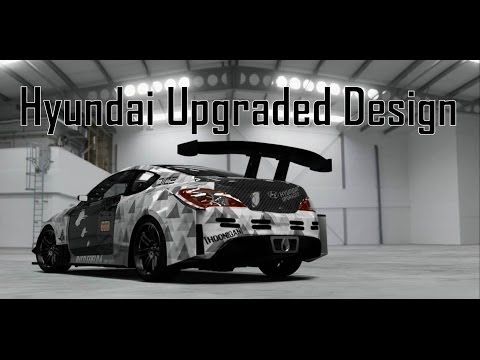 Hyundai Upgraded Design Time Lapse - Forza Motorsport 4
