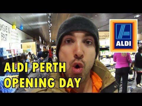 Aldi OPENING DAY in Perth, WA (Belmont Forum)