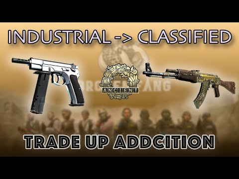 CS:GO | Trade Up Addiction | Going from Industrial to Classified