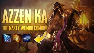 Strike of Kings: THE WOMBO COMBO!! Azzen'Ka [MA Bot] Gameplay