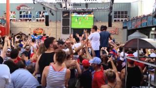 kansas city bar crowd reaction   jermaine jones goal usa vs portugal world cup 2014
