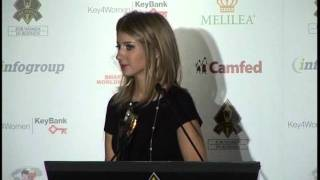 Katie McSorley of Euro RSCG Worldwide PR honored in the 2011 Stevie Awards for Women in Business