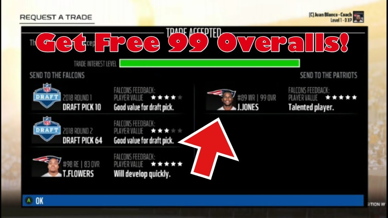 Madden 18 Connected Franchise NEW TRADE GLITCH GET ANY