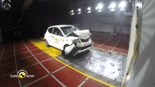 Краш-тест Lancia Ypsilon