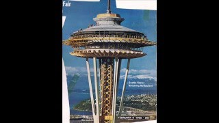 Space Needle Paper Model Assembly Project