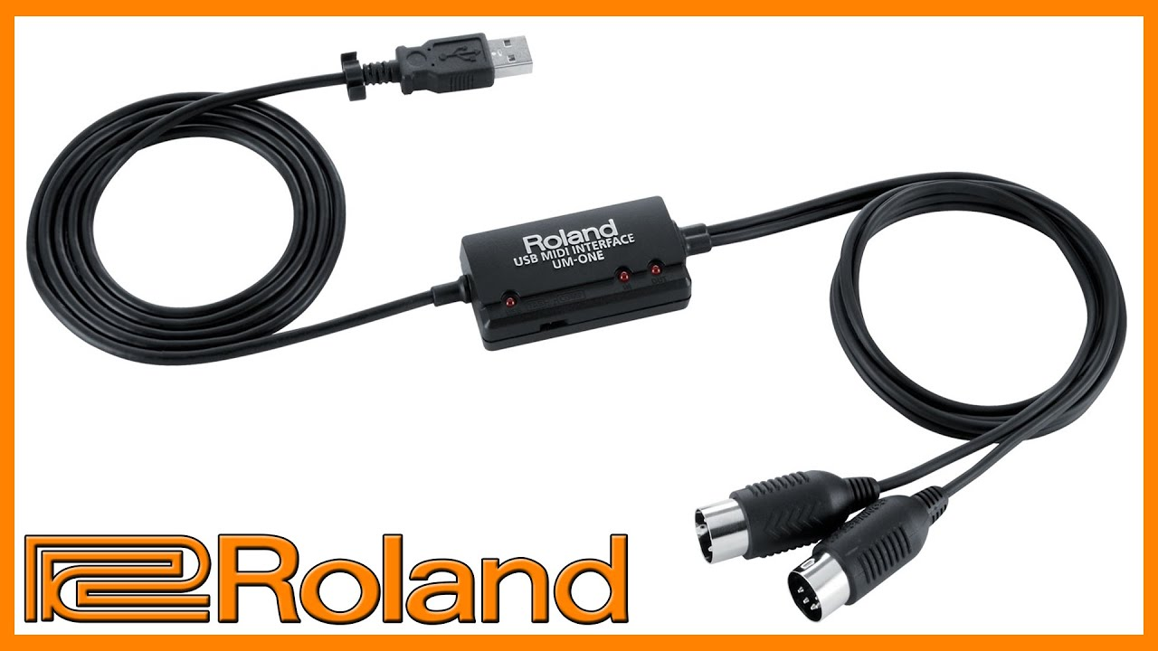 ROLAND UM-ONE USB MIDI INTERFACE DESCARGAR DRIVER