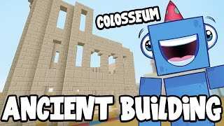 Minecraft Xbox - ANCIENT BUILDING!! - Building Time [#77]