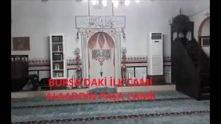 Bursa'daki ilk cami : Alaaddin Paşa Camii