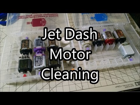 how to break in tamiya mini 4wd motor