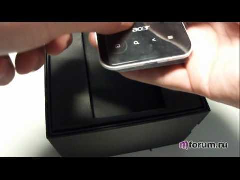 Обзор Acer E400 - Комплектация