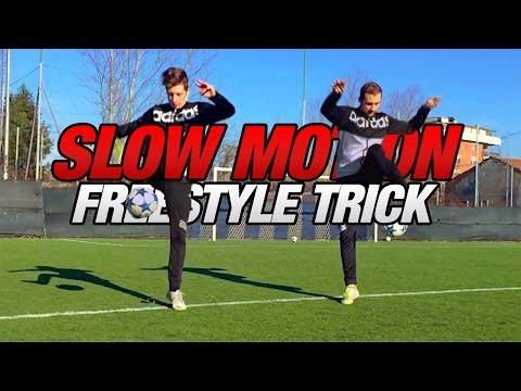 Extreme Freestyle Football Skills - Slow Motion Edition | I2BOMBER