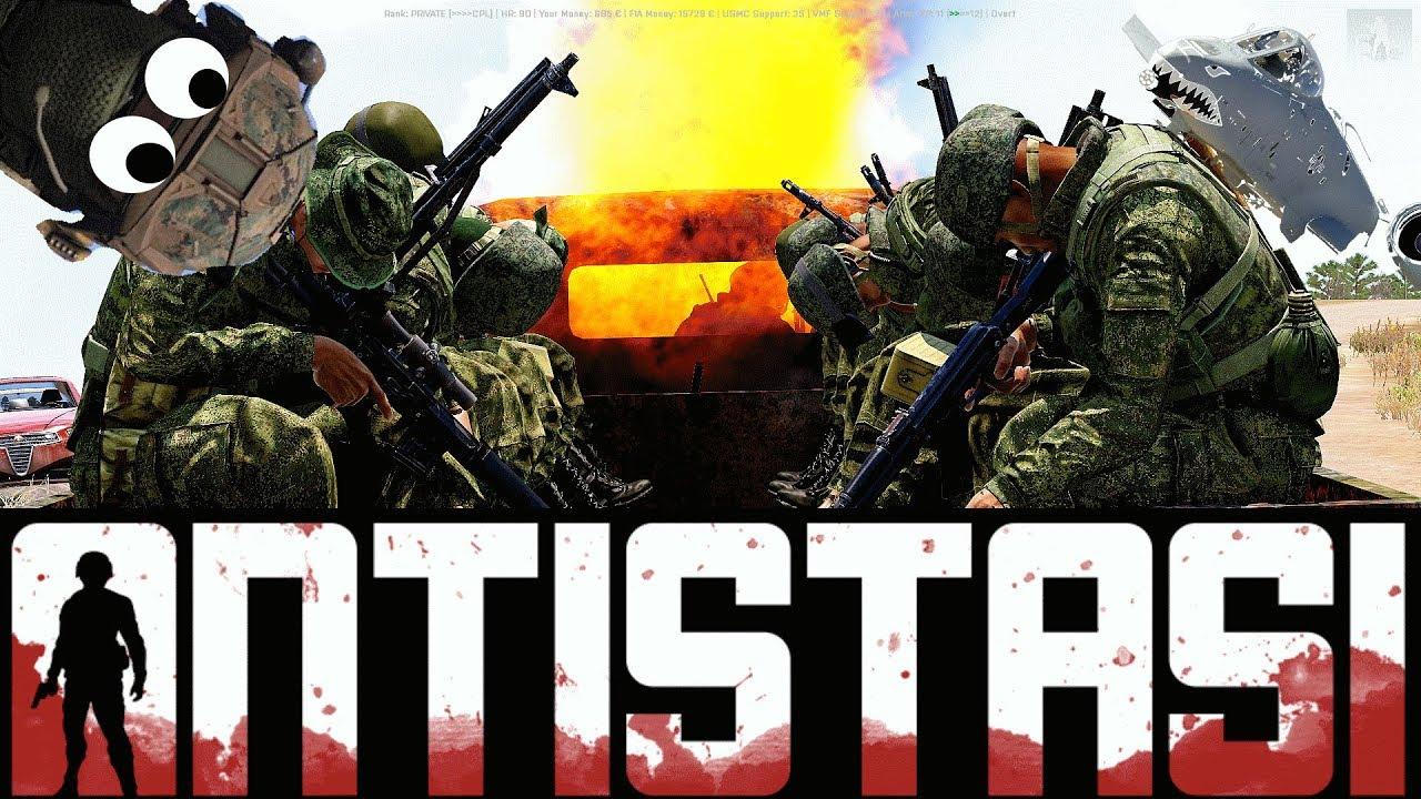 ARMA 3 - Antistasi Altis - END GAME
