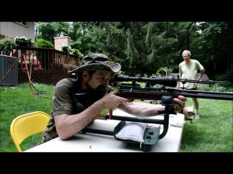 Badger 40 cal Air Rifle Part 2