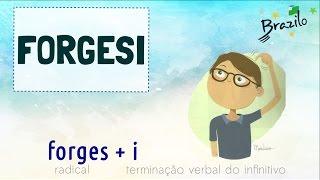 FORGESI (verbo em Esperanto)
