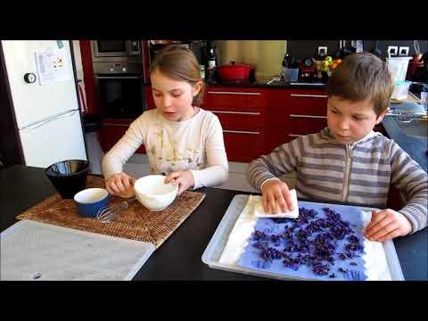 Bonbons Fait Maison Aux Violettes Youtube