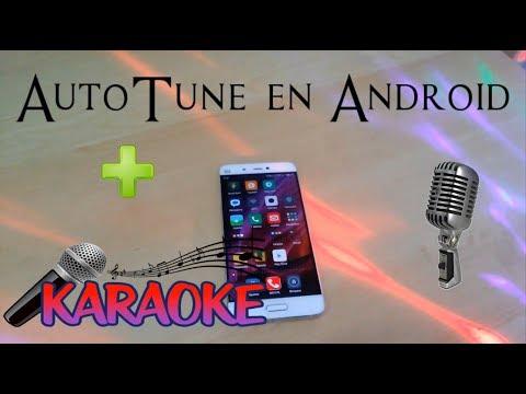 Como tener AutoTune en Android y usarlo como Karaoke