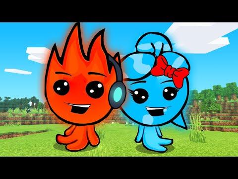 MINHA NAMORADA APRENDEU A JOGAR!! - Fireboy and Watergirl #2