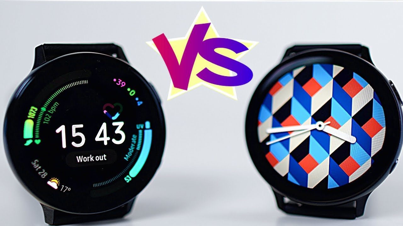 Samsung Galaxy Watch Active 2 Stainless Steel Vs Aluminium 44mm What S The Difference Youtube