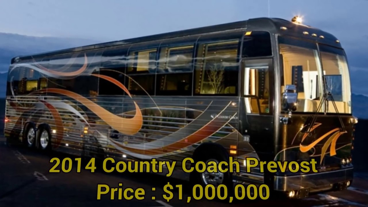 Top 10 Most Expensive Motorhomes In The World