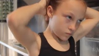 Она выглядит как обычная 9-летняя девочка, но заставит вас умирать со стыда!