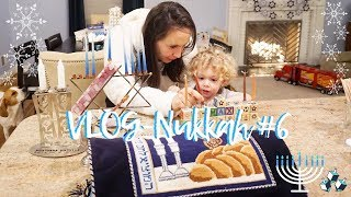 VlogNukkah #6 - CELEBRATING SHABBAT & HANUKKAH IN ONE! Daily Hanukkah Vlogs