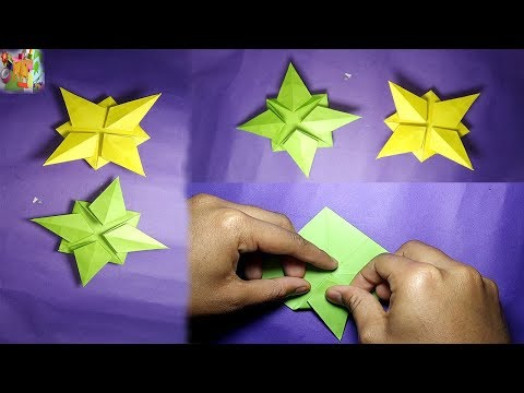 MT DIY Craft :Make Easy Star Craft |Origami Paper Star|How to make paper star easy