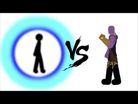 SCP-3812 Vs Thanos  Sticknodes Animation!