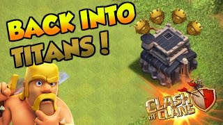 Clash Of Clans | WE ARE BACK IN TITANS LEAGUE | TH9 LIVE ATTACKS TO TITAN! |