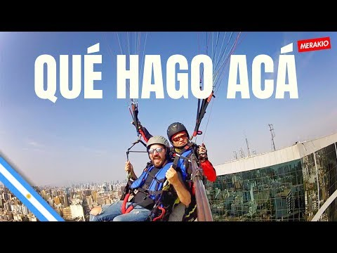 PARAPENTE EN LIMA, PERU