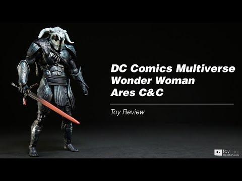 DC Comics Multiverse Wonder Woman CnC Ares action figure toy review