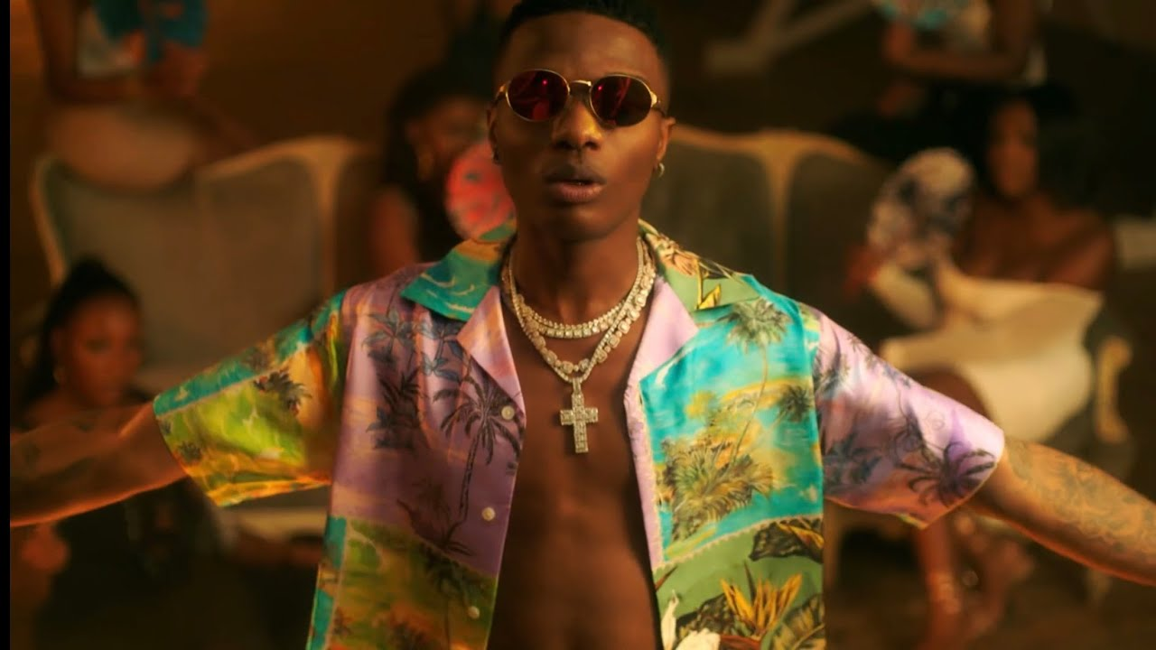 Wizkid - Strong Time ft. Drake (Official Video)