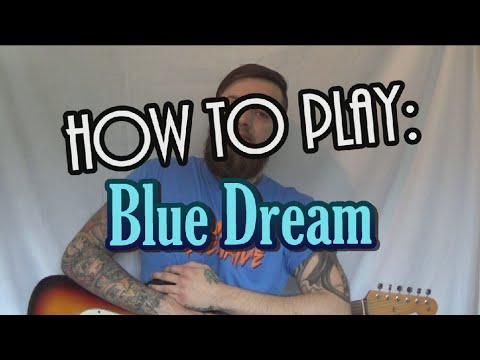 HOW TO PLAY: Blue Dream on Guitar - Dance Gavin Dance