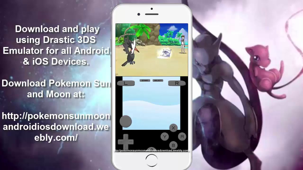 how to get pokemon emulator on iphone new pok 233 mon moon drastic emulator 3ds ios 20108