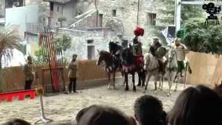 Médiévales Saillon 2015:  tournoi de chevalerie
