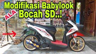 BEAT Fi Babylook ALA Bocah SD // Beat Babylook #Modif_murah