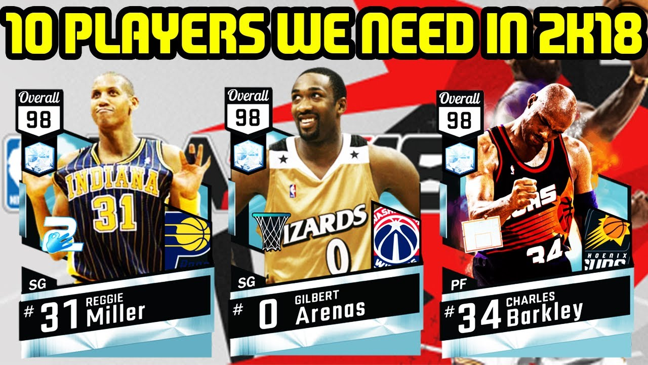 TOP 10 PLAYERS WE NEED IN NBA 2K18! MYTEAM WOULD BE SO MUCH BETTER ... ed1c07d90
