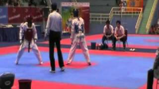 vuclip Philippines vs Thailand - 26th  SEA Games Taekwondo  - Under 58 kg Men Finals