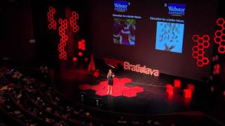How money makes us good or evil: Julia Pitters at TEDxBratislava 2013
