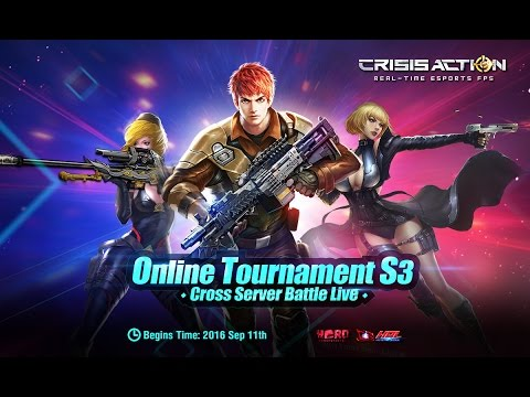 Crisis Action Online Tournament Season 3 - Live