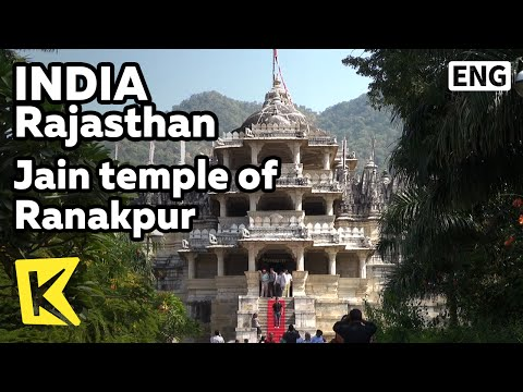 【K】India Travel-Rajasthan[인도 여행-라자스탄]인도에서 가장 아름다운 건축물, 라낙뿌르 자인교 사원/Jain temple/Ranakpur