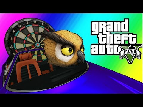 GTA5 Online Funny Moments – Vanoss the Scooper (Overtime Rumble Rematch)